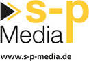 Logo s-p Media GmbH in Bamberg